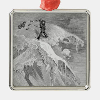 The Summit of the Moming Pass in 1864, from 'The A Christmas Ornament