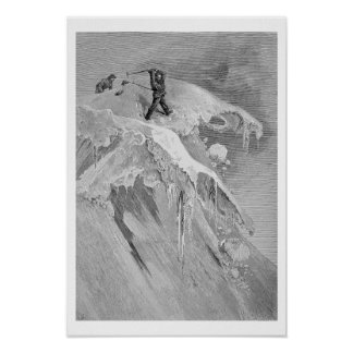 The Summit of the Moming Pass in 1864, from 'The A Poster
