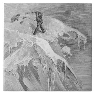 The Summit of the Moming Pass in 1864, from 'The A Tile