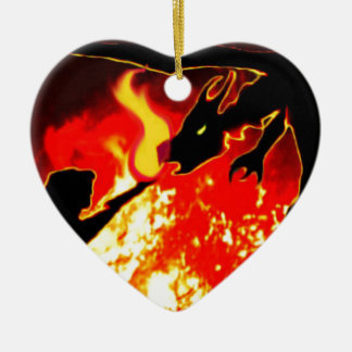 The Summoning Ceramic Heart Decoration