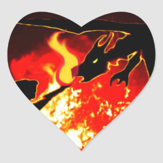 The Summoning Heart Sticker