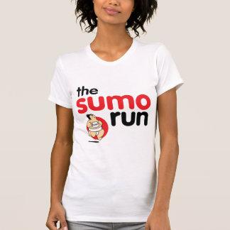 the sumo run woman's tshirt