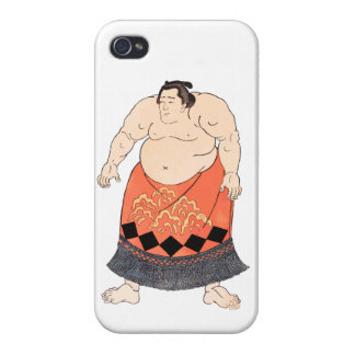 The Sumo Wrestler iPhone 4/4S Cover