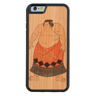 The Sumo Wrestler Carved® Cherry iPhone 6 Bumper