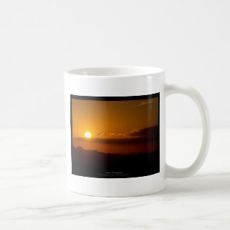 The sun 003 - Sunset at the mountains Coffee Mugs