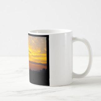 The sun 008 - Sunset at the city Coffee Mug