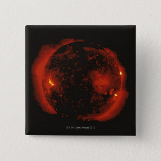 The Sun 2 15 Cm Square Badge