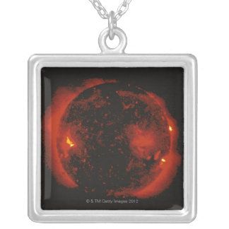 The Sun 2 Silver Plated Necklace