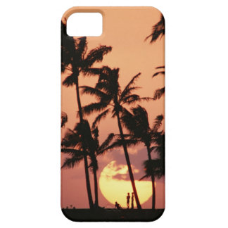 The Sun and Palm Tree Barely There iPhone 5 Case