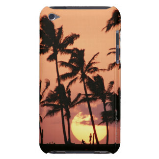 The Sun and Palm Tree iPod Touch Case
