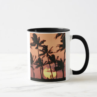 The Sun and Palm Tree Mug
