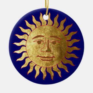 The Sun and the Moon Christmas Ornament