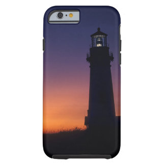 The sun ball drops down on the colorful horizon tough iPhone 6 case