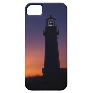 The sun ball drops down on the colorful horizon iPhone 5 cover