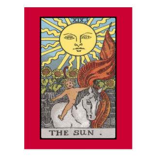 The Sun card tarot image