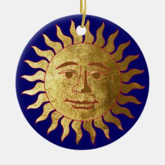 The Sun Christmas Ornament