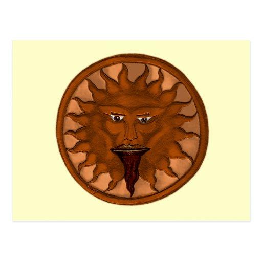 The Sun God (Ra) (Bronze) Postcards
