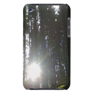 The sun in the forest iPod touch Case-Mate case