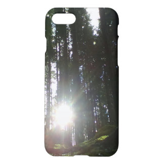 The sun in the forest iPhone 8/7 case