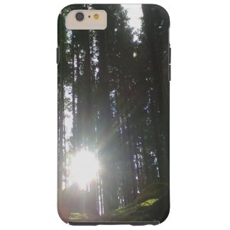 The sun in the forest tough iPhone 6 plus case