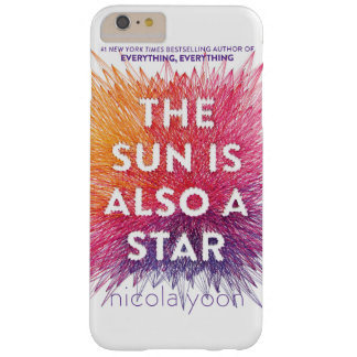 The Sun Is Also A Star bookcover case for iPhone