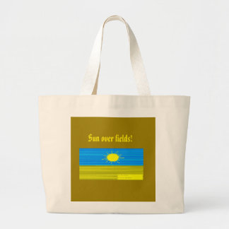 the sun large tote bag