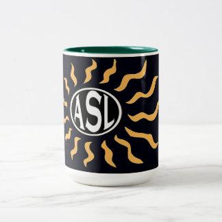 The Sun of ASL Mug