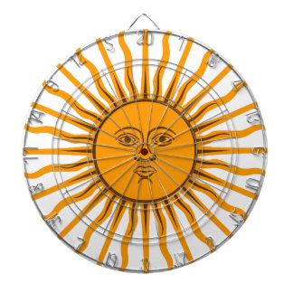 The Sun of May Dartboard