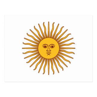 THE SUN OF MAY (Sol De Mayo) ~ Postcard