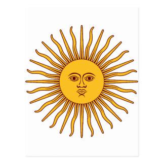 THE SUN OF MAY (Sol De Mayo) ~~ Postcard