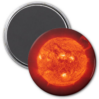 THE SUN (outer space solar system) ~ ~ 7.5 Cm Round Magnet