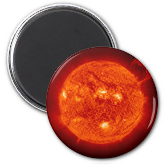 THE SUN (outer space solar system) ~ ~.jpg 6 Cm Round Magnet