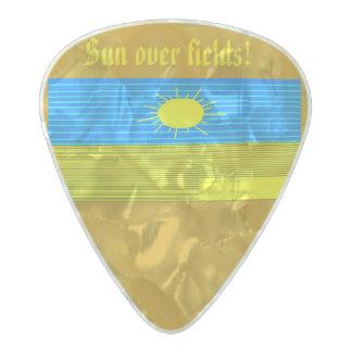 the sun pearl celluloid guitar pick