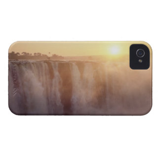 The sun rises behind the spray from Victoria Case-Mate iPhone 4 Cases