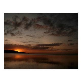 The Sun Sets on Guam Postcard