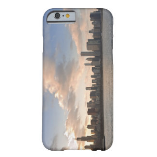 The sun sets over Lake Michigan and the Chicago Barely There iPhone 6 Case