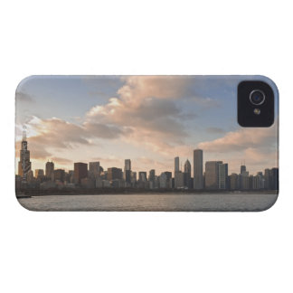 The sun sets over Lake Michigan and the Chicago Case-Mate iPhone 4 Case