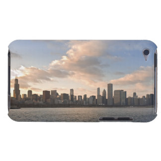 The sun sets over Lake Michigan and the Chicago iPod Case-Mate Cases
