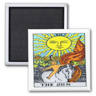 The Sun Square Magnet