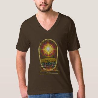The Sun Tarot Card V-Neck T-Shirt