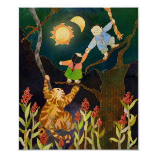 The Sun & The Moon: Korean Folk Tale Poster