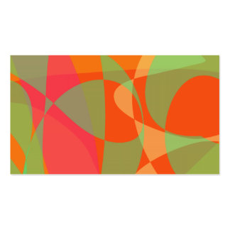 The Sun through the Orange Leaves Pack Of Standard Business Cards