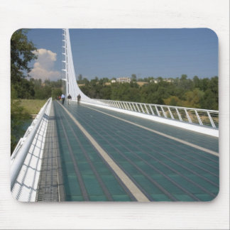 The Sundial Bridge at Turtle Bay Mouse Mat