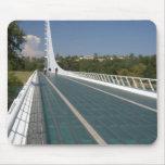 The Sundial Bridge at Turtle Bay Mousepads