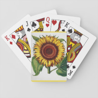 The Sunflower Playing Cards