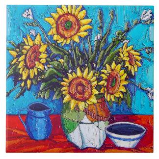 The Sunflowers Tile