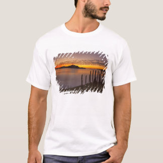 The sunrise over Isla Danzante in the Gulf of 2 T-Shirt