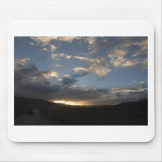 The sunset glow in Tibet Mouse Pad