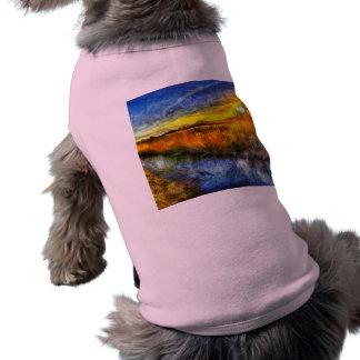 The Sunset River Van Gogh Shirt