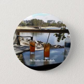 The Sunshine Coast Australia photo 6 Cm Round Badge